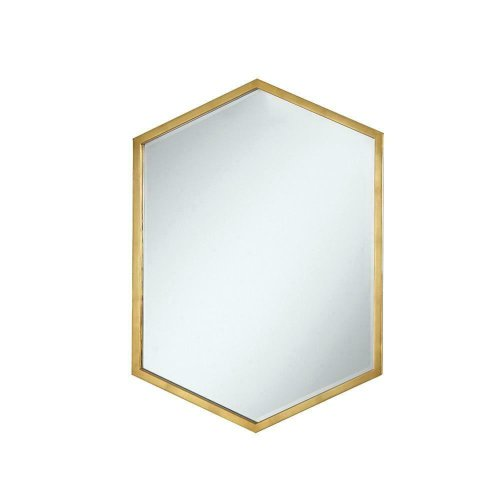 Unique Hexagon Shaped Mirror