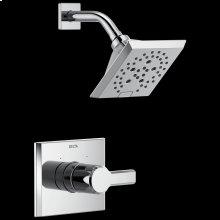 Chrome Monitor ® 14 Series H 2 Okinetic ® Shower Trim