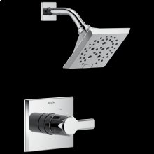 Chrome Monitor ® 14 Series H 2 Okinetic ® Shower Trim