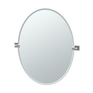 Elevate Oval Mirror in Chrome Product Image