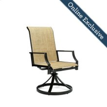 Addyson Sling Swivel Dining Chair 2 Pack