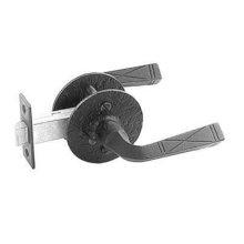 Double Lever Latch Set - Rough Iron