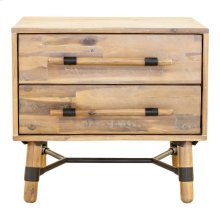 Hudson 2 Drawer Nightstand