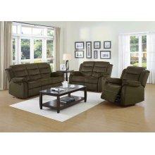 Rodman Chocolate Reclining Sofa