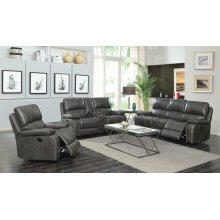Ravenna Casual Charcoal Motion Sofa