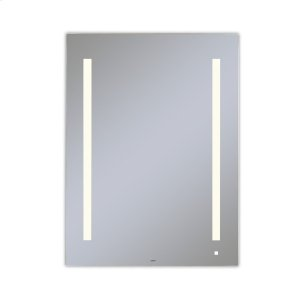 """Aio 29-1/8"""" X 39-1/4"""" X 1-1/2"""" Lighted Mirror With Lum Lighting At 2700 Kelvin Temperature (warm Light), Dimmable, Usb Charging Ports and Om Audio Product Image"""