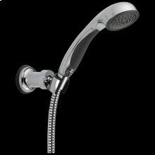Chrome Premium Single-Setting Adjustable Wall Mount Hand Shower