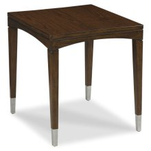 Crescent Rectangular End Table