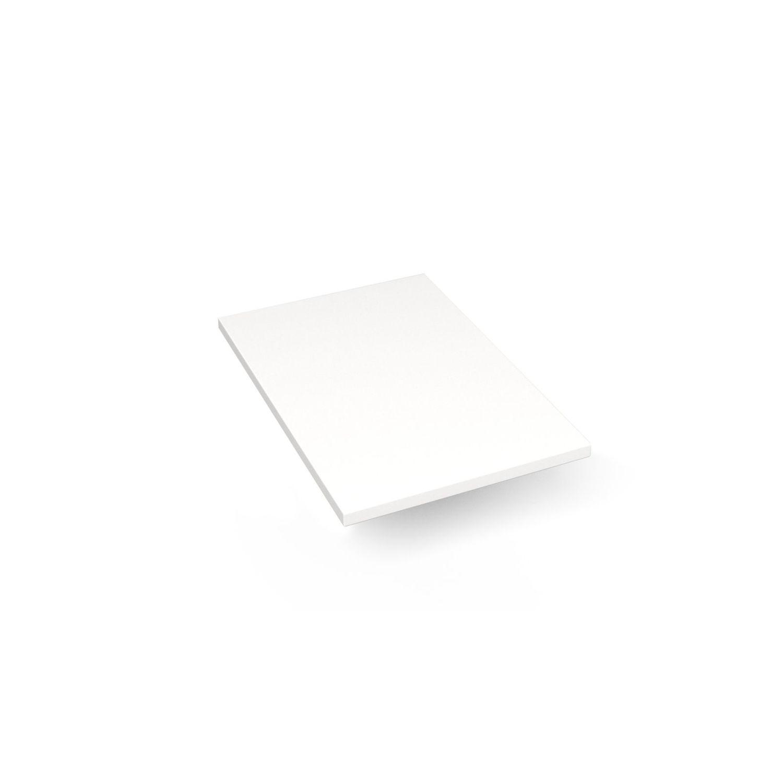 """Engineered Stone 13"""" X 19"""" X 3/4"""" Quartz Dry Vanity Top In White Zeus Extreme"""