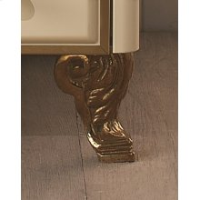 Decorative Scroll Feet (1 Pair) - Bronze