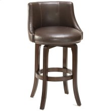Napa Valley Bar Stool - Dark Brown Bonded Leather
