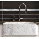 """Polished & Honed Front Farmhouse Sinks 33"""" Width / Carrara Marble Product Image"""