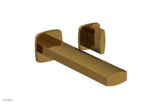 RADI Single Handle Wall Lavatory Set - Blade Handles 181-15 - French Brass Product Image