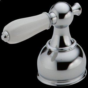 Chrome Porcelain Lever Handle Set - Roman Tub Product Image