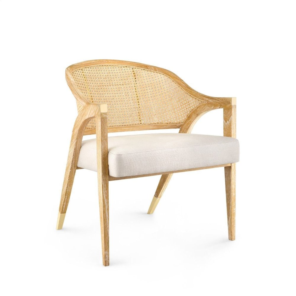Edward Lounge Chair, Natural