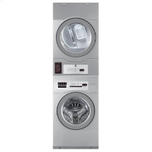 Commercial Washer/Dryer Stacked Opl