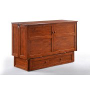 Clover Murphy Cabinet Bed in Cherry Finish Product Image