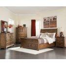 Elk Grove Rustic Rich Bourbon Queen Five-piece Set Product Image