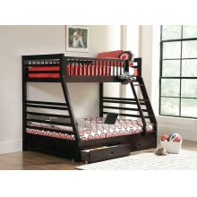Ashton Cappuccino Twin-over-full Bunk Bed
