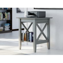 Lexi Printer Stand in Atlantic Grey