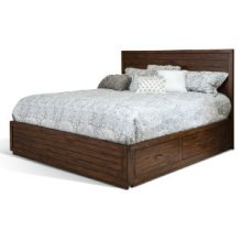 Tuscany Queen Storage Bed