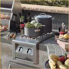 Dual Side Burner (Cart Grill-mount model)