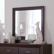 Fenbrook Dark Cocoa Rectangular Dresser Mirror