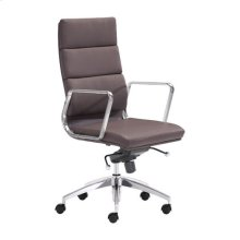 Engineer High Back Office Chair Espresso