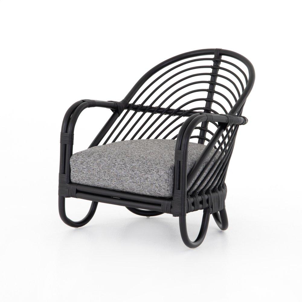 Marina Chair-ebony Rattan-lago Graphite