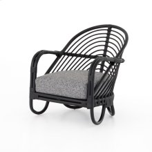 Marina Chair-ebony Rattan-lago Graphite