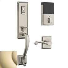 Lifetime Polished Brass Evolved Stonegate Handleset