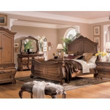 Wystfield - White/Brown 5 Piece Bedroom Set