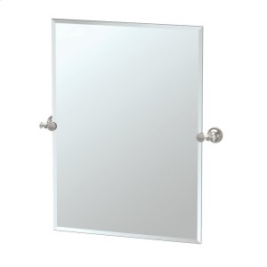 Tavern Rectangle Mirror in Satin Nickel Product Image