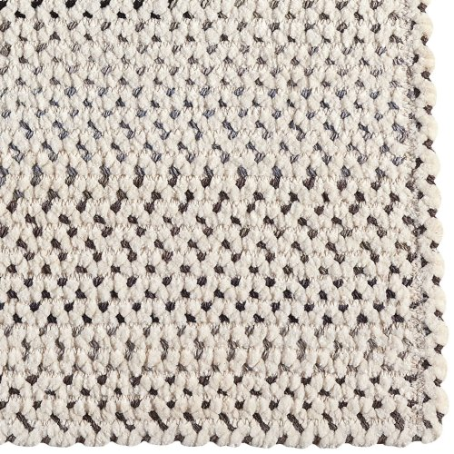 Dramatic Static Foggy Day Braided Rugs