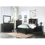 MALLOWSEA FULL STORAGE BED