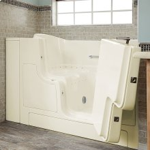 Gelcoat Premium Seriers 30x52 Walk-in Tub with Air Spa and Outswing Door, Right Drain  American Standard - Linen