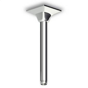 Ceiling mounted shower arm, length 300 mm.