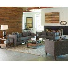 Ellery Grey Two-piece Living Room Set