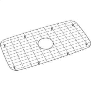 "Dayton Stainless Steel 25-7/16"" x 13-3/8"" x 1"" Bottom Grid Product Image"