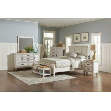 Franco Antique White Queen Bed