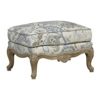 Cabriole Ottoman Product Image