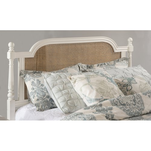 Melanie King Bed White