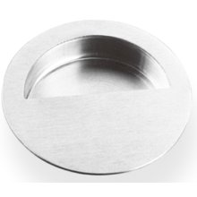 Round Pocket/Cup Pull w/Semi-circular Opening, US32D