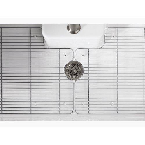 Stainless Steel Left-hand Sink Rack