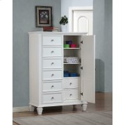 Sandy Beach Door Dresser With Concealed Storage Product Image