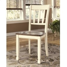 Whitesburg - Brown/Cottage White Set Of 2 Dining Room Chairs