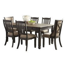 Tyler Creek - Black/Gray 7 Piece Dining Room Set