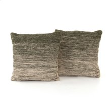 "20x20"" Size Juniper Ombre Pillow, Set of 2"