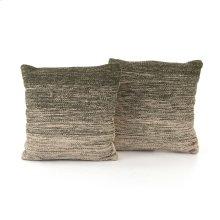 "20x20"" Size Juniper Ombre Pillow, Set of 2"