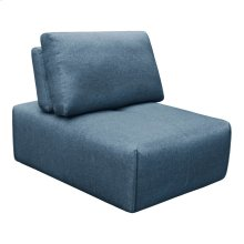Nathaniel Slipper Chair Blue